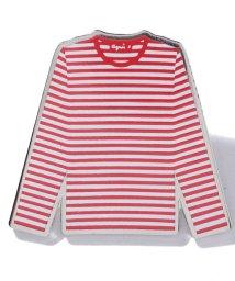 agnes b. FEMME/GX91 PIN ボーダーTシャツ モチーフピンバッジ/501881074