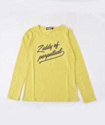ZIDDY/【ニコプチ掲載】【JSガール掲載】【カタログ掲載】天竺ラメロゴプリントTシャツ/501888284