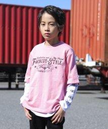 RAD CUSTOM/【カタログ掲載】ミニミニ裏毛プリントTシャツセット/501888291