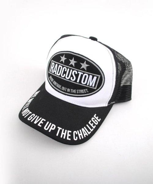 RAD CUSTOM(ラッドカスタム)/ツイルワッペン付メッシュキャップ/163410500