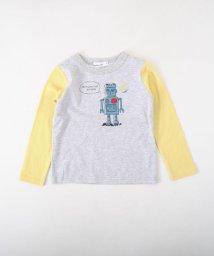 Noeil aime BeBe/天竺ロボットTシャツ/501888350