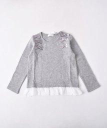 SLAP SLIP/接結リボン付Tシャツ/501888365