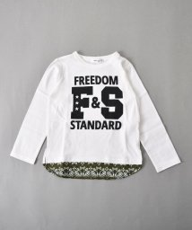 SLAP SLIP/天竺レイヤード風ロゴ長袖Tシャツ/501888367