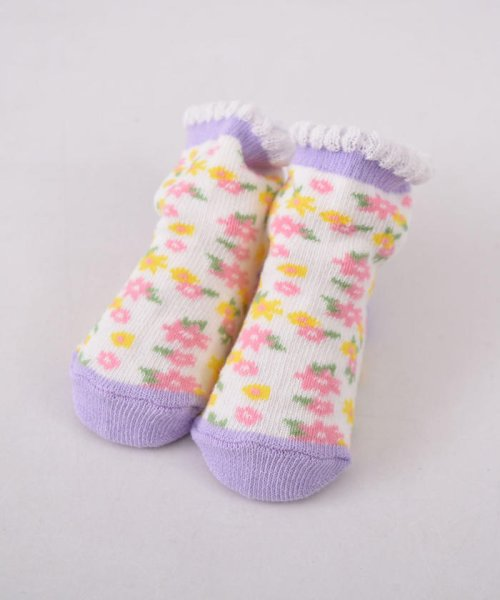 e-baby(イーベビー)/花柄カップソックス/183911025