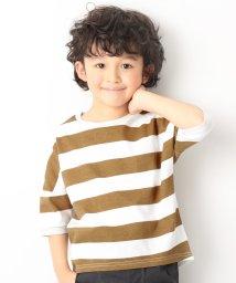 devirock/ワイドボーダーゆるっとTシャツ/501888716