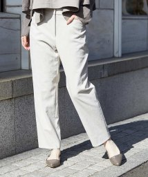 GIANNI LO GIUDICE/【手洗い・日本製】リネンミックスノータックパンツ/501891410