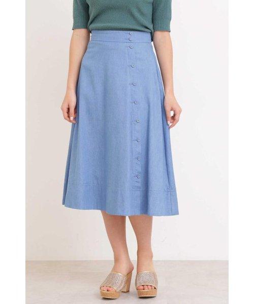 PROPORTION BODY DRESSING(プロポーション ボディドレッシング)/テンセルロングスカート/1219120406