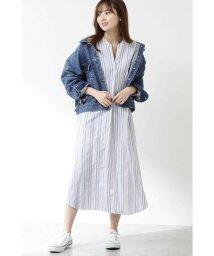 PROPORTION BODY DRESSING/《BLANCHIC》ストライプシャツワンピース/501891474