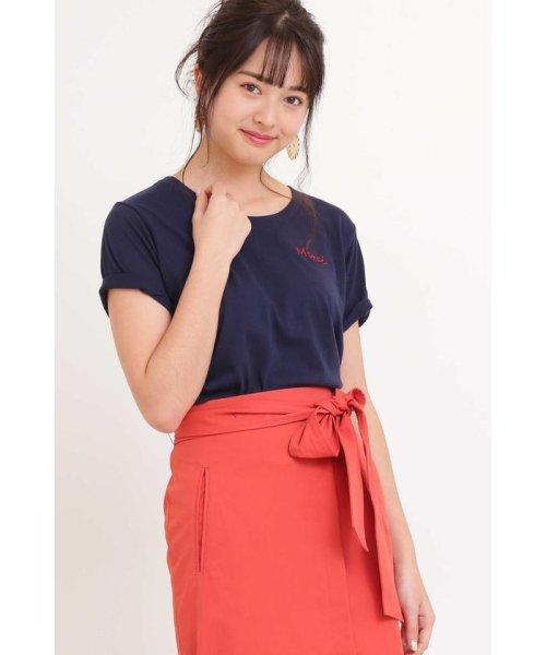 PROPORTION BODY DRESSING(プロポーション ボディドレッシング)/◆プチロゴTシャツ/1219160404