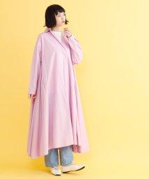 merlot/オープンカラーシャツワンピース/501891798