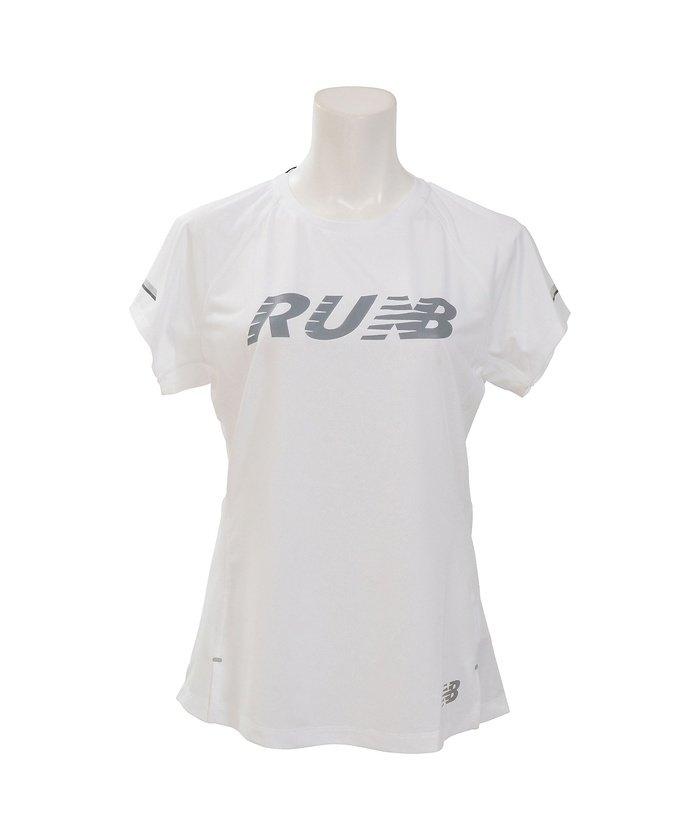ニューバランス/レディス/W NB ICE V2グラフィックショートスリーブTシャツ