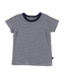 quoti use fith/ガーゼテンジクボーダー 半袖 Tシャツ/501892725