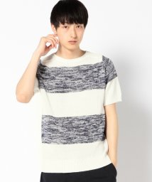 SHIPS MEN/【SHIPS JET BLUE】SGS: CL CREW SS KNIT            /501893331