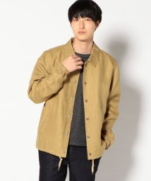 SHIPS MEN/【SHIPS】SA:USA GB LINEN COACH JACKET    /501893362