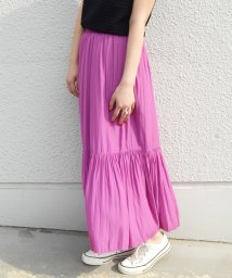 SHIPS WOMEN/ 【SHIPS for women】WCO:TIERED MAXI SK              /501893721