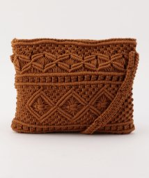 SHIPS WOMEN/【khaju】COTTO:MACRAME BAG               /501893730