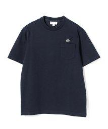 BEAMS MEN/LACOSTE / コットン ピケTシャツ/501601084