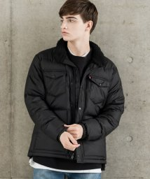 LEVI'S MEN/DOWN BARSTOW PUFFER BLACK/501622793