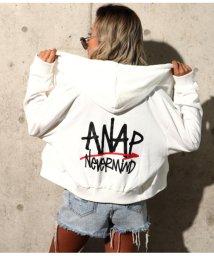 ANAP/ANAPロゴZIPパーカー/501706117