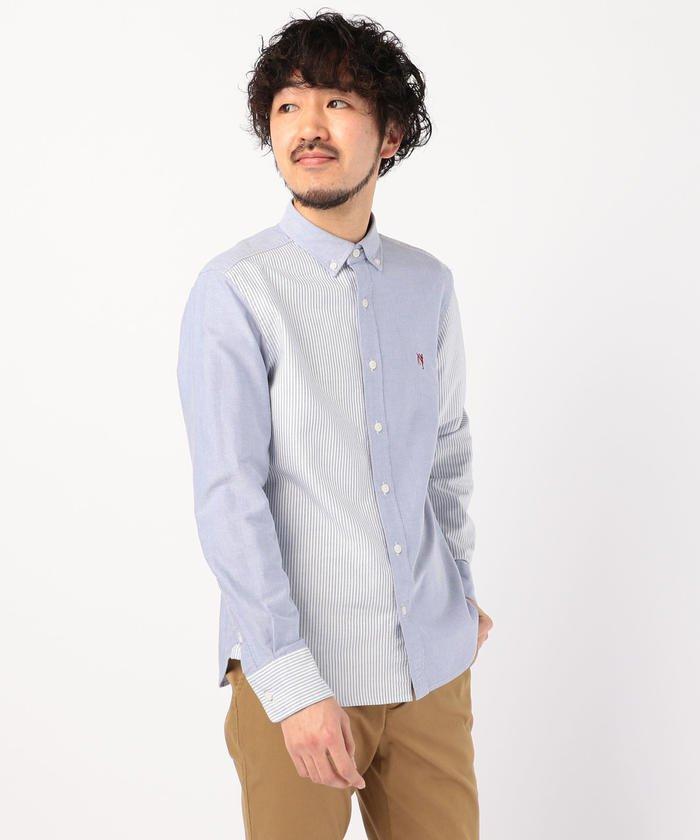ASTLAD ボタンダウンシャツ