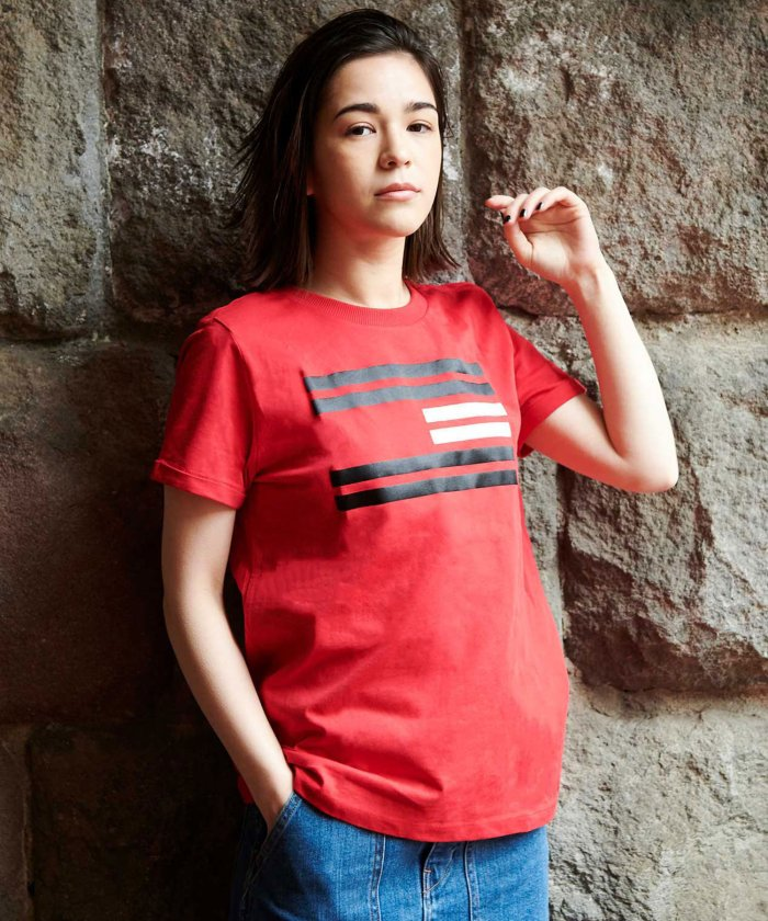 フラッグロゴTシャツ