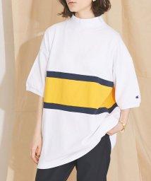 nano・universe/【MIHO NOJIRI × nano・universe】Champion/別注カノコカラーブロックTシャツ/501892533