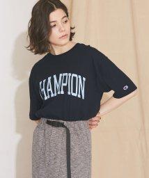 nano・universe/【MIHO NOJIRI × nano・universe】Champion/別注CHAMPIONプリントTシャツ/501892535