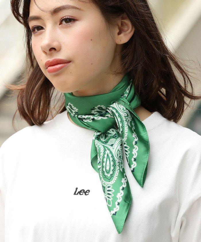 7cm幅バンダナ柄スカーフ
