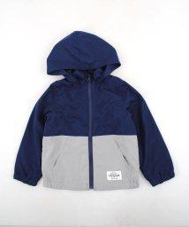 SLAP SLIP/タフタ+メッシュ配色切り替えジャケット/501897154