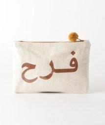 BEAUTY&YOUTH UNITED ARROWS/<Fatima Morocco>ロゴポーチ/501897439