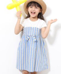 ROPE' PICNIC KIDS/【ROPE' PICNIC KIDS】ストライプワンピース/501897463