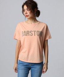 JET/コットンリヨセル ロゴプリントTシャツ/501897669