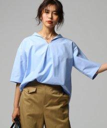UNTITLED/セーラー風ワイドシャツ/501899321
