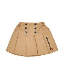 ALGY/ニコ☆プチ2月号掲載   前ボタンプリーツスカート/501475403