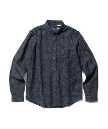 Levi's/スタンダードシャツ INDIGO MICRO/501627697