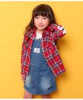 ANAP KIDS/チェックシャツ/501706123