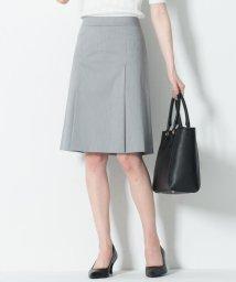NIJYUSANKU/【マガジン掲載】スーピマシャンブレー ボックスプリーツスカート/501899946