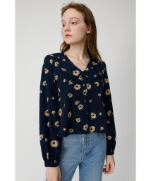 moussy/MARGALET PRINT ブラウス/501900382