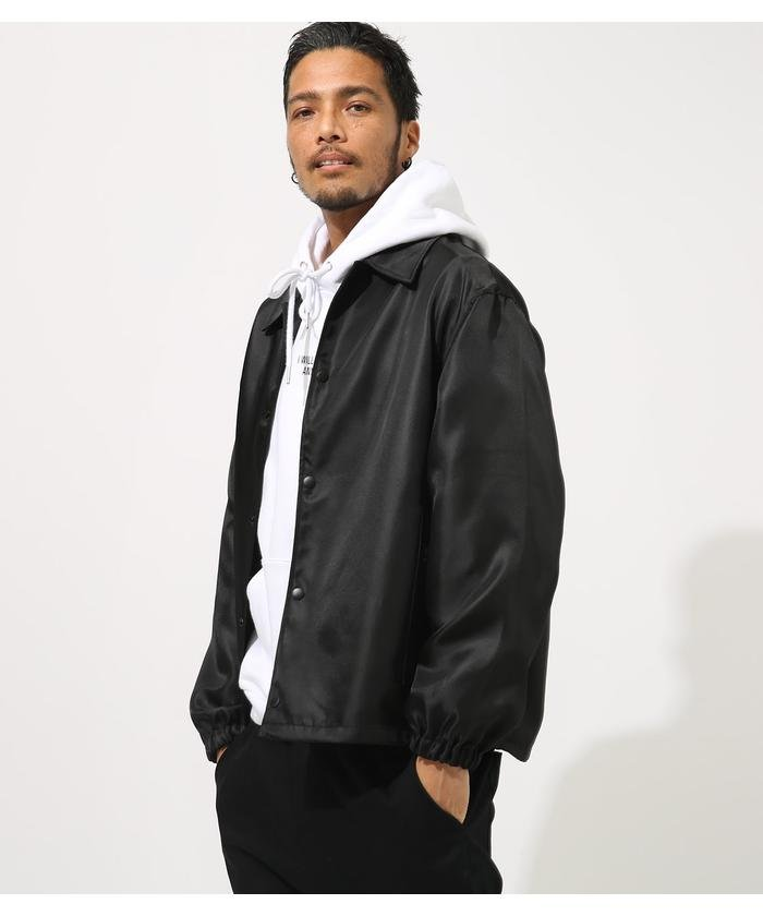 HEAVY TWILL BIG COACH JACKET