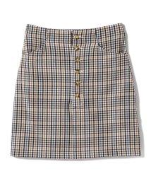 Ray BEAMS/GHOSPELL / True Axis Mini Skirt/501620776