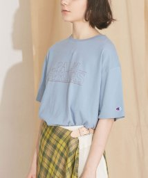 nano・universe/【MIHO NOJIRI × nano・universe】Champion/別注PALM SPRINGSプリントTシャツ/501892536