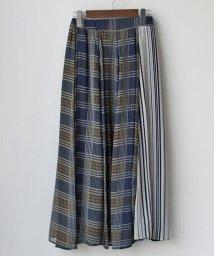 REAL CUBE/ストライプ×チェック3デザインスカート/501900886