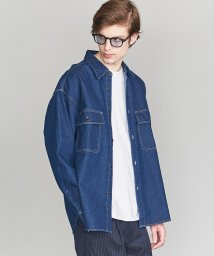 BEAUTY&YOUTH UNITED ARROWS/【WEB限定】 by デニム ワイド シャツ/501901101