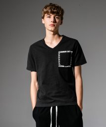 NUMBER (N)INE DENIM/NUMBER (N)INE DENIM(ナンバーナインデニム) プリントポケット付Tシャツ/501901922
