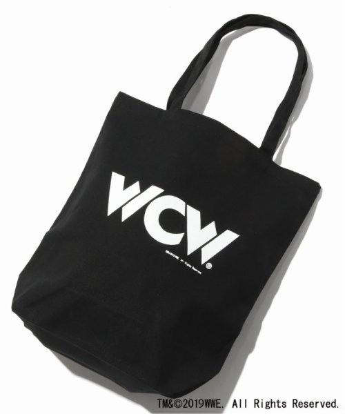 JOURNAL STANDARD(ジャーナルスタンダード)/WWE×JOURNAL STANDARD : WCW ECO TOTE(CANVAS)/19092610009310