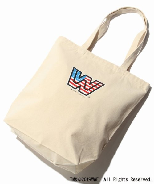 JOURNAL STANDARD(ジャーナルスタンダード)/WWE×JOURNAL STANDARD : WWE ECO TOTE(CANVAS)/19092610009410