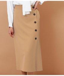 Alluge/フロントボタンラップスカート/501617150