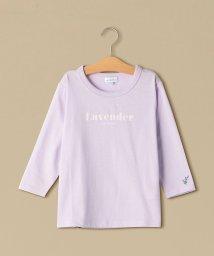 green label relaxing (Kids)/フラワーカラー7スリーブTシャツ/501620508