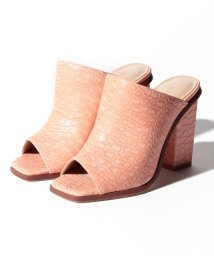 eimy istoire/crocodile pattern open toe mule/501888546