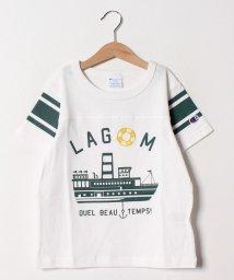 LAGOM/[Champion別注]船プリントフットボールTEE/501894167